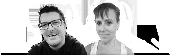 Fredrik och Ann-Sofie på Lektionsbanken