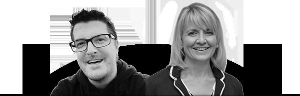 Fredrik och Martina på Lektionsbanken